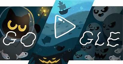 Halloween Google Doodles