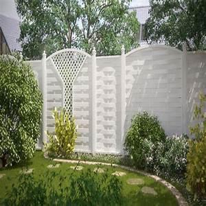 Sichtschutzzaun Aus Kunststoff : br gmann sichtschutzzaun longlife romo rechteck wei 180 x 180 cm ~ Watch28wear.com Haus und Dekorationen