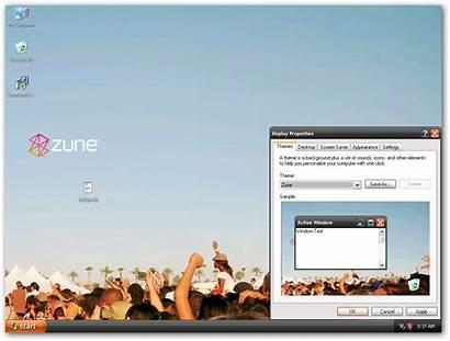 Zune Theme Microsoft Xp Win Windows Winxp