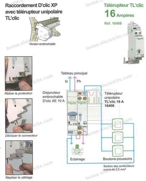Schema Raccordement Telerupteur Hager