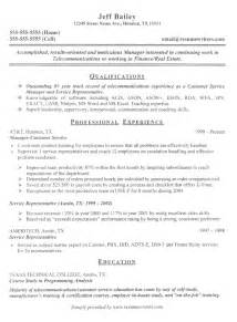 Resumes Exles by Sle Resumes Resume Cv