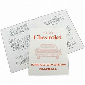 Full Size Chevy Wiring Harness Diagram Manual  1960 40
