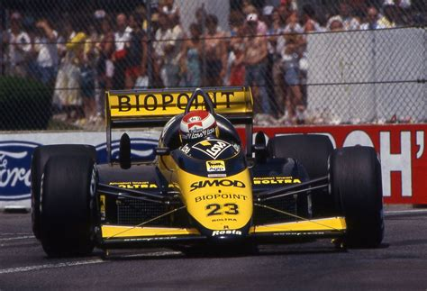 In 2010, he was one of the 4 teams accepted for the season along with lotus f1, manor and us f1. 1987 GP USA (Detroit) Minardi M187 - Motori Moderni (Adrian Campos) | Formula 1
