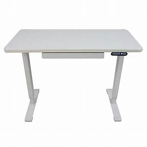 Motionwise 24 U0026quot  X 48 U0026quot  Electric Height Adjustable Desk  Home