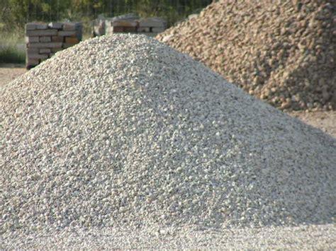crushed limestone vs crushed granite rock n dirt yard