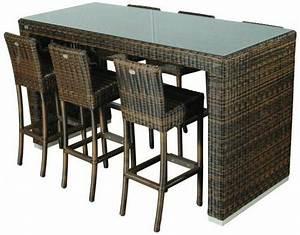garten bartisch braun mit barstuhle set gartentisch mit With französischer balkon mit garten bartisch