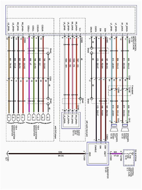 2006 Ford Duty Radio Wiring Diagram by Ford F 150 Dlc Wire Schematics New Wiring Resources 2019