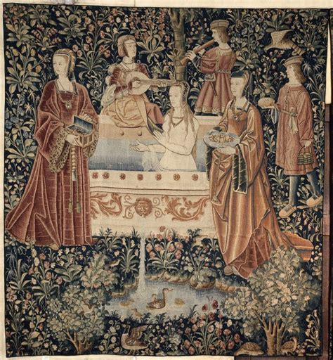le bain la vie seigneuriale tapisserie 1er quart du xvie si 232 cle pays bas du sud arto