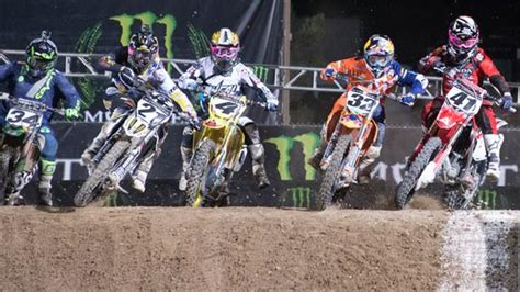 2015 ama motocross schedule pro 2015 monster energy supercross television schedule