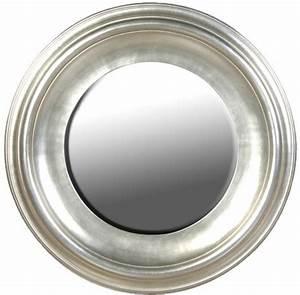 Runder Spiegel Silber : large round silver leaf mirror mirrors ~ Whattoseeinmadrid.com Haus und Dekorationen