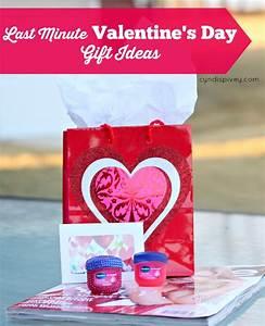 Last Minute Valentine's Day Gift Ideas - Cyndi Spivey