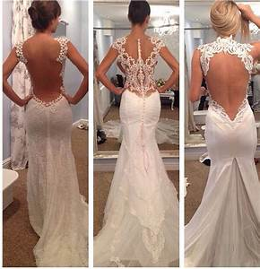 backless wedding gowns wedding pinterest beautiful With wedding gowns with beautiful backs