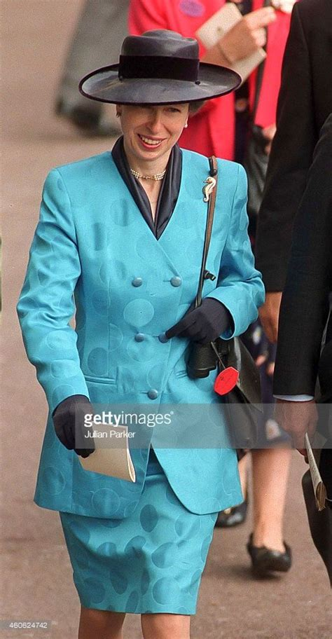 Princess Anne, The Princess Royal, attends The Royal Ascot ...