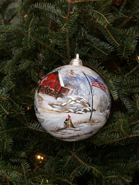 ornaments representing west virginia