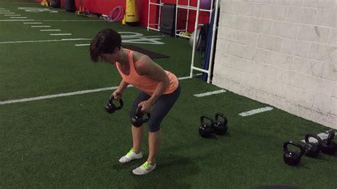 kettlebell triceps kickback