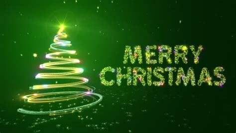 merry christmas background  bright stock footage video