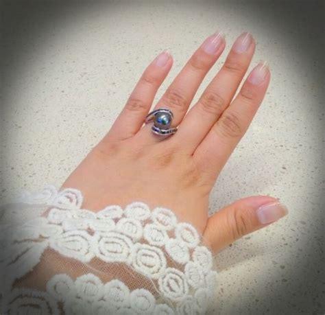 my tahitian black pearl ring weddingbee photo gallery