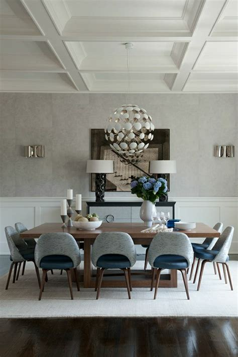 Get The Look 20 Mid Century Modern Glamorous Dining Room