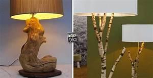 Comment Creuser Un Tronc D Arbre : cr er une lampe avec un tronc d 39 arbre 20 id es sublimes ~ Melissatoandfro.com Idées de Décoration