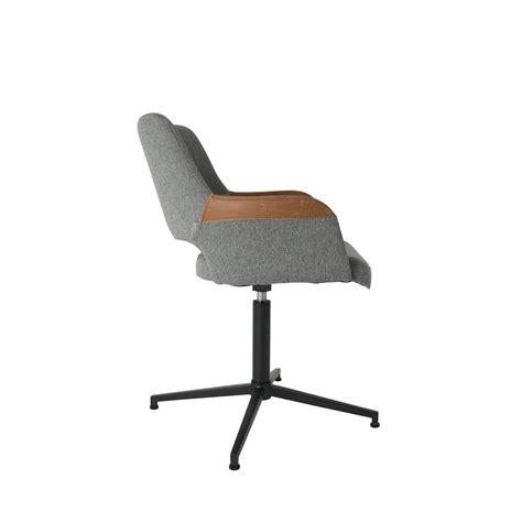 chaise de bureau habitat fauteuil design pivotant syl zuiver
