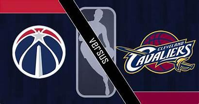 Wizards Vs Cavaliers Nba Washington Cleveland Logos