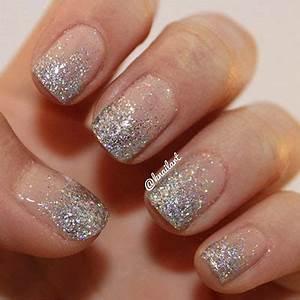 Smashing Glitter Wedding Nail Art Designs u0026 Ideas 2014 | Fabulous Nail Art Designs