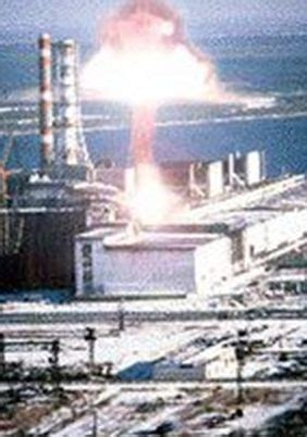 explosion  reactor  chernobyl nuclear power station