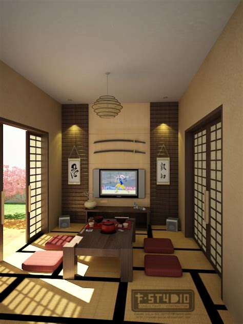 Japanese Living Room By Fakhriaulia On Deviantart