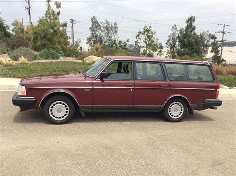 Used Volvo Wagons by 1990 Volvo 240 Wagon Used Volvo 240 For Sale In