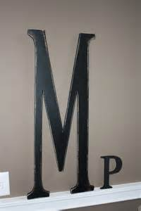 Letter M Wall