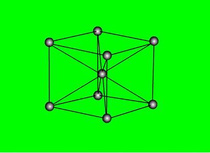 Structure Bcc Solid Cubic Centered State Animation