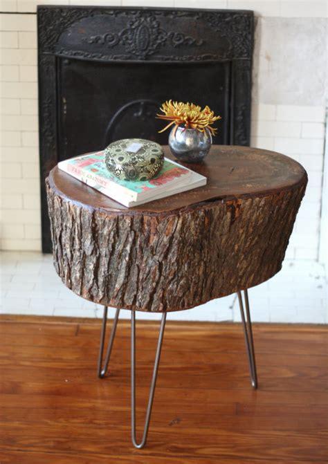 Tree Stump Decorating Ideas - the coolest new decorating trend 18 great tree stump