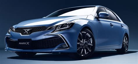 2016 Toyota Mark X Facelift Adds New Safety Sense P