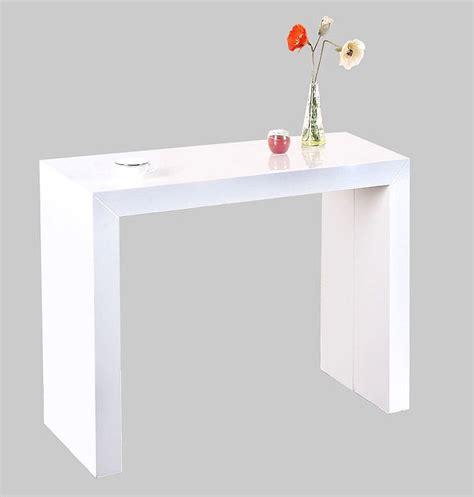 table de cuisine avec chaises pas cher table rabattable cuisine table extensible laque blanc