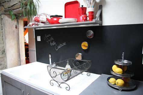 repeindre faience cuisine un tableau noir dans ma cuisine