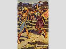 Egyptian Myth and Legend Plate III Senuhet Slays the