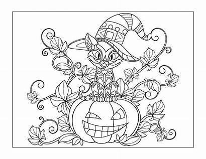 Coloring Halloween Sheets Older Printable Gift Kid