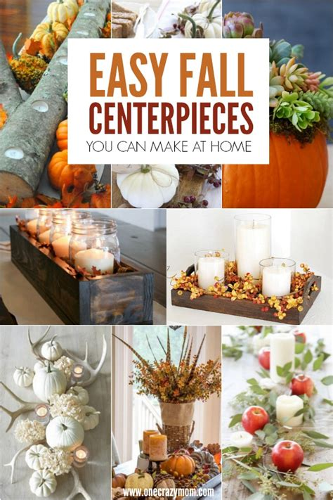 how to make a fall centerpiece diy fall centerpiece ideas easy fall decorations and fall centerpieces