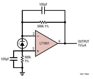 Photodiode Amplifier Circuit Collection Analog Devices