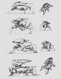 sketches - main battle robot 2 by ProgV on DeviantArt