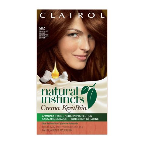 clairol instincts hair color 4r