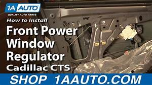 How To Install Replace Front Power Window Regulator