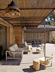 Abri De Jardin Avec Terrasse : abri de terrasse avec canisses mon jardin pinterest ~ Dailycaller-alerts.com Idées de Décoration