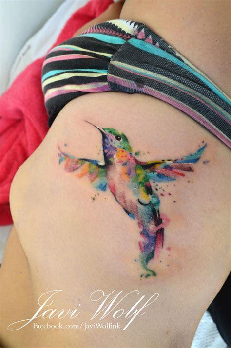 watercolor hummingbird tattoo fresh tattoo ideas