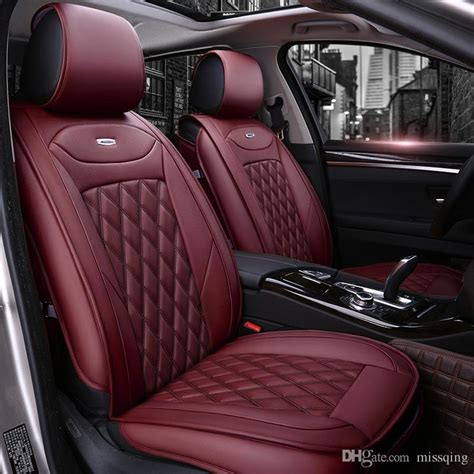 luxury pu leather auto universal car seat cover fit