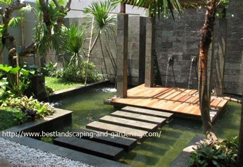 membuat desain taman minimalis belakang rumah taman