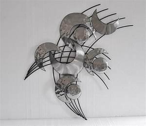Decoration Murale Metal Design : decoration murale acier ~ Teatrodelosmanantiales.com Idées de Décoration