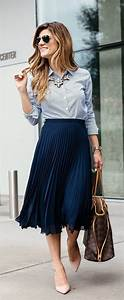150 Fashionable Work Outfits for Women 2017 - Fashionetter