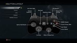 Xbox 360 Guide    Xbox One Controller Buttons Layout