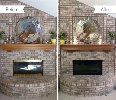 Fireplace Door Paint - paint fireplace doors diy ideas